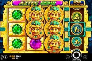 ภายในเกม aztec gems